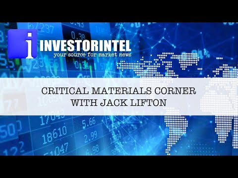 Jack Lifton on who drives the Critical Materials Policy in the US