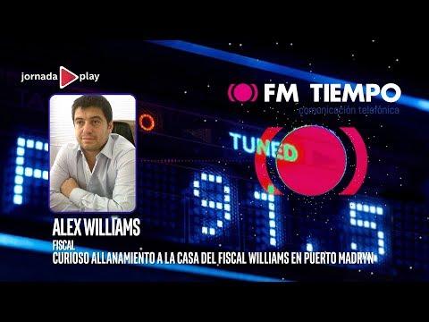 Curioso allanamiento a la casa del fiscal Williams en Puerto Madryn