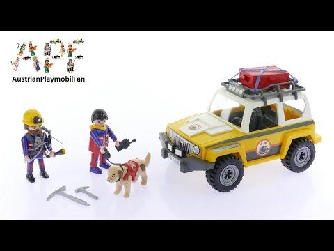 Vidéo PLAYMOBIL Action 9128 : Secouristes des montagnes avec véhicule
