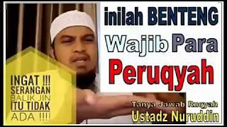Tidak Ada Serangan Balik Jin Ke Peruqyah, Tapi Siapkan Benteng-ust Nuruddin-2017-ruqyah Palembang