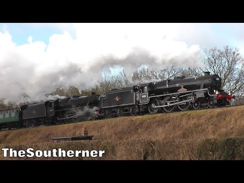 The Watercress Line 'Pre-Spring Steam Gala' 9th February 201…