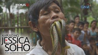 Kapuso Mo, Jessica Soho: Kamangha-manghang 'Cobra Master' ng Leyte