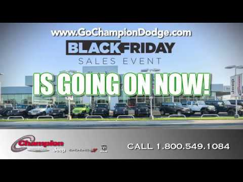 2016 DODGE & JEEP - BLACK FRIDAY SALE - Los Angeles, Cerritos, Downey CA - RAM & CHRYSLER