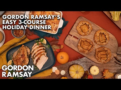 Gordon Ramsay's Three Course At Home Holiday Dinner