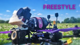 Freestyle Fpv. Custom Build 6s Nazgul 5 with Mamba stack. Drone flight 4k. Race quad.