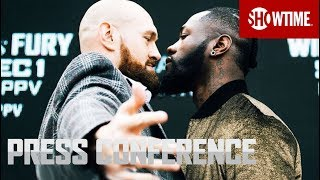 Wilder vs. Fury: New York Press Conference   SHOWTIME PPV