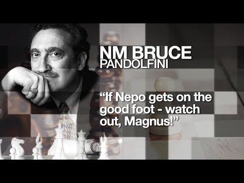 Bruce Pandolfini: Nepo Might Win theMatch