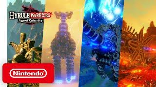Nintendo Hyrule Warriors: Age of Calamity - Unleashing the Divine Beasts anuncio