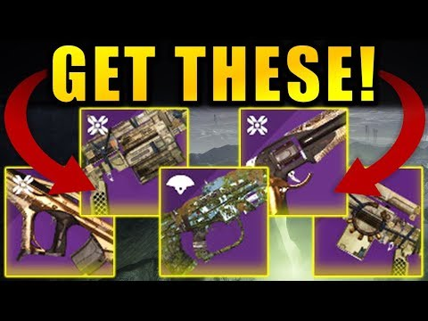 The 5 Weapons you NEED TO GET in Destiny 2: Shadowkeep!