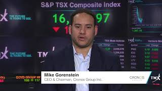 Mike Gorenstein, CEO and Chairman, Cronos Group Inc.