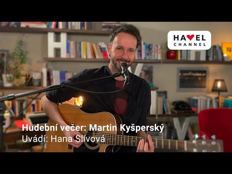 Přehrát video: On-line hudební večer: Martin Kyšperský
