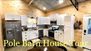 Pole Barn House Tour