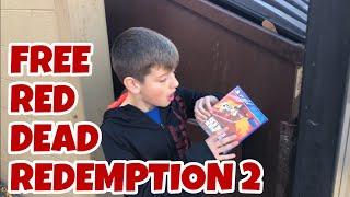Kid Temper Tantrum Finds RDR 2 Game In Dumpster Behind Gamestop SKIT