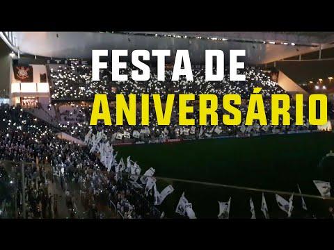 Show de luzes e 109 bandeiras na Arena Corinthians
