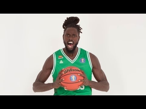 Maurice Ndour with Steal and Dunk in Transition