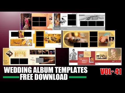Latest Wedding Album 12x36 psd template free download elegent wedding psd | Srinu photo editing .