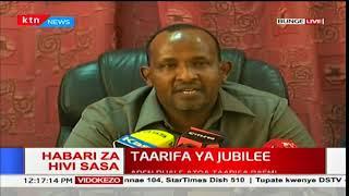 Kiongozi wa wengi bungeni Aden Duale atoa taarifa kufuatia mchujo wa wabunge wa Jubilee