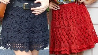 Beautiful And Gorgeous Crochet Skirts Designs And Pattern For Girls