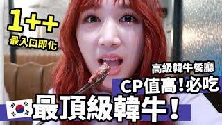 韓國必吃◆最頂級1++韓牛! 高級但CP值爆高!韓國美食體驗 | Mira 咪拉