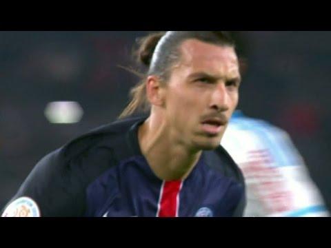Zlatan slog målrekord och PSG vann i &quotstraffarnas match&quot - TV4 Sport