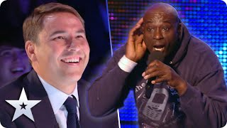 "Unforgettable Audition: Mr Zip belts out ""Where's me keys? Where's me phone?"" 