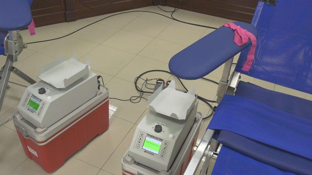 Donación de sangre en Sabinillas