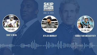 Dak's deal, Kyler Murray, Christian McCaffrey (6.18.20)   UNDISPUTED Audio Podcast