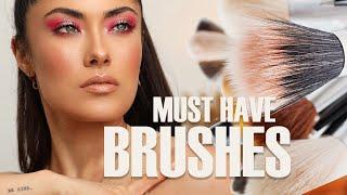 PRO MAKEUP TIPS: All About Makeup Brushes   Melissa Alatorre