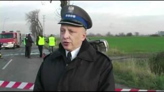preview picture of video 'Wypadek na trasie Dzierżoniów - Pieszyce'