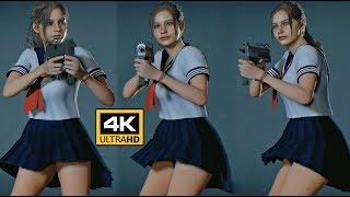 Resident Evil 2 Claire School Girl Mod