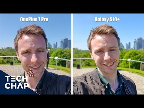 OnePlus 7 Pro Vs Galaxy S10+ Camera Comparison! | The Tech Chap