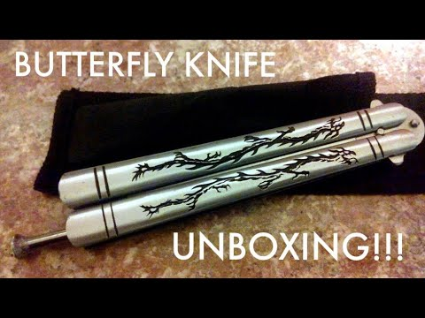BUTTERFLY KNIFE UNBOXING!!!