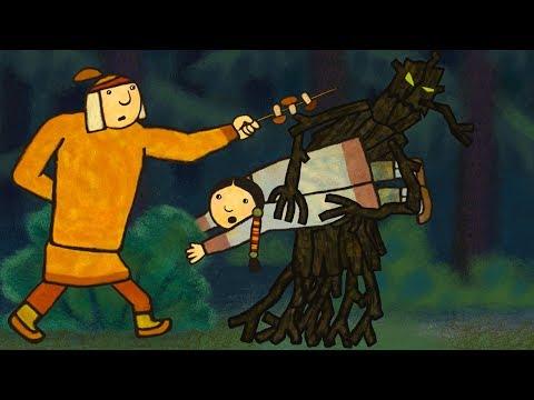 Мерген - Нанайская Сказка для Детей - Мультики