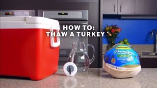 How to Safely Thaw a Frozen Turkey