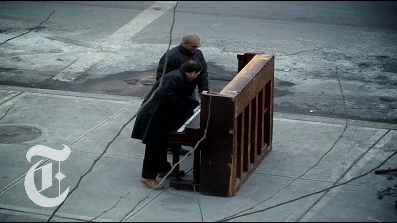 What Happens When You Leave A Piano On The Street?