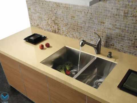 Video for Stainless Steel Pull-Out Spray Kitchen Faucet