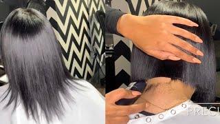 Bob Cut With Clippers