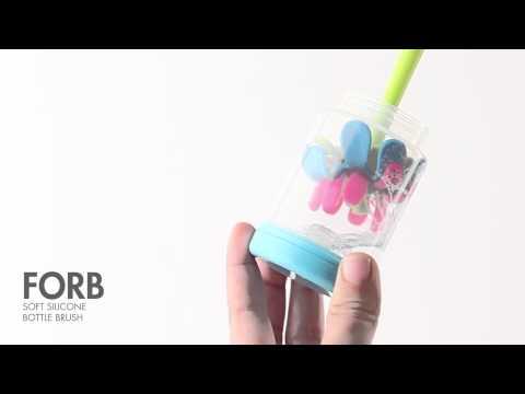 Cepillo de Silicón para Biberones de Boon®