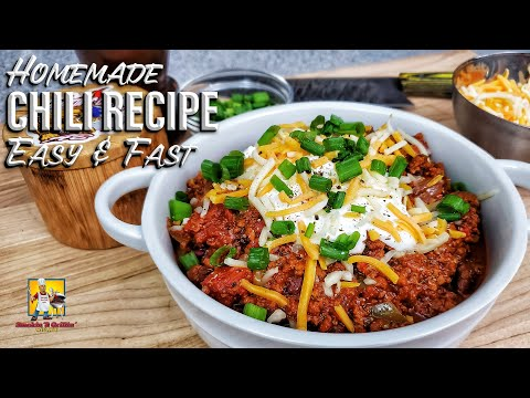 AB At It Again: Homemade Chili 🌶 Recipe