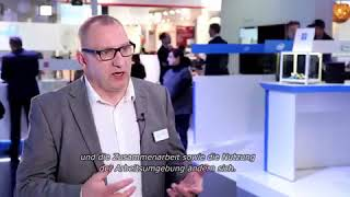 Intel CeBIT, Workplace Transformation mit Stuart Dommett, Intel