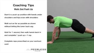 621. Walk Out Push Up