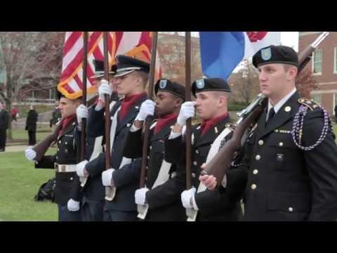 UC Veterans Day Ceremony 2015