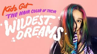 Kids Get the Hair Color of Their Wildest Dreams | HiHo Kids