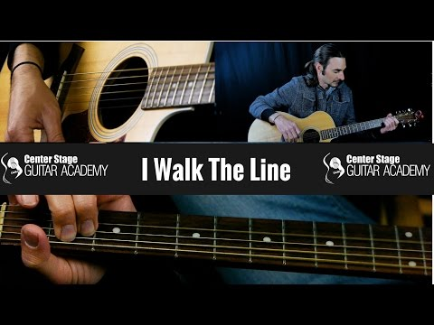 Watch How to Play I Walk the Line by Johnny Cash - Guitar Lesson on YouTube