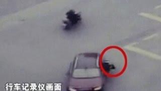 案件聚焦:上海交警被违章宝马车拖行10米殉职全调查