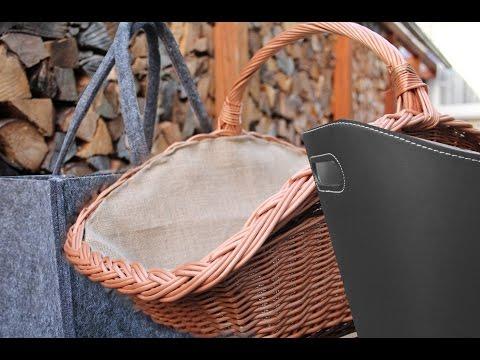 Die besten Holzkörbe für den Kamin | Kamin-abc.de