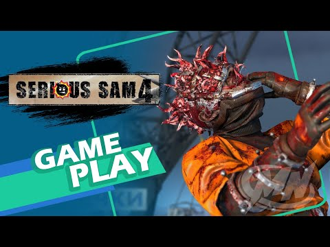 Gameplay de Serious Sam 4 Deluxe Edition