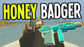 Unturned - CHILL HONEY BADGER and 300 CONFIRMED KILLS! - Greece Map Modded Survival - Ep. 15