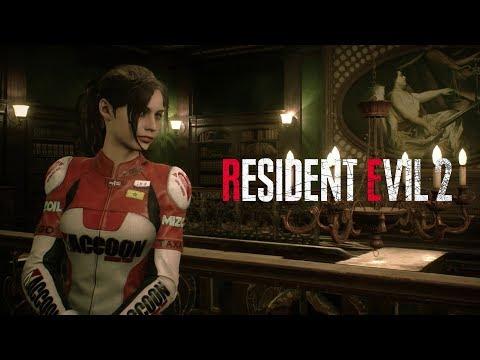 Resident Evil 2 - Claire Elza Walker DLC Costume Gameplay de Resident Evil 2