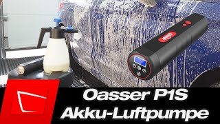 Oasser P1S Luftkompressor Elektrische Luftpumpe mit 2000mAh im Kurztest